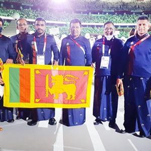 スリランカ選手 TOKYO オリンピック2020