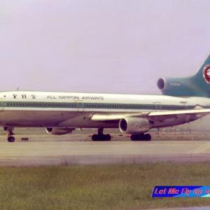 ANA全日空 モヒカン塗装 ロッキード L-1011-1 JA8507