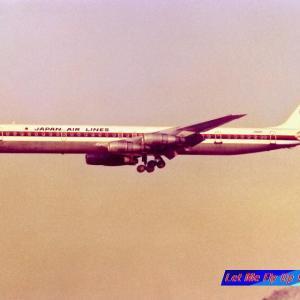 旧日本航空 鶴丸 DC8-61 JA8067