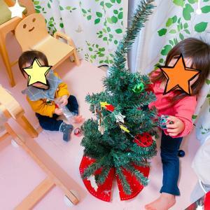 クリスマスツリーがやってきた