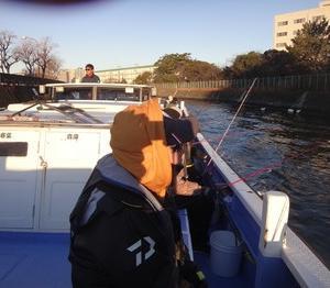乗り気でなかったカワハギ釣りで竿頭になる