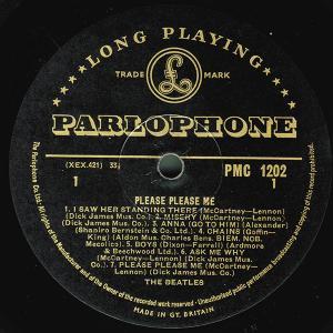 ビートルズの黄パーロフォン、入手レポート