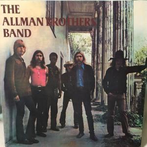 中古レコード入手情報:『The Allman Brothers Band』日本盤