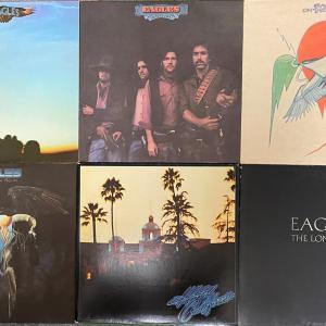 中古レコード入手情報:イーグルスのアルバム
