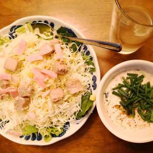 手作りシーチキンのサラダ