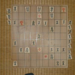 19年度清さんとの将棋31局目