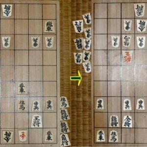 本年度清さんとの将棋32局目