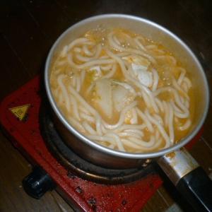 キムチ鍋スープで