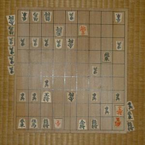 本年度清さんとの将棋33局目�
