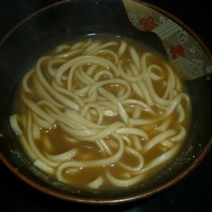 乾麺カレーうどん