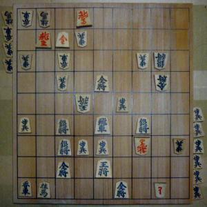 2020年度清さんとの将棋39局目