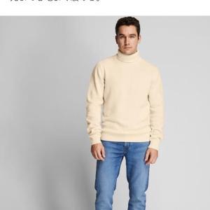 ユニクロのラムセーター購入
