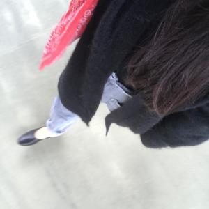 服、記録11月寒かった日