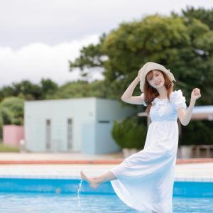 フレッシュ屋外美少女大撮影会へ 稲毛海浜プール  9/27