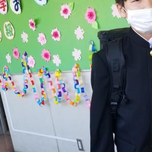 次男・入学式