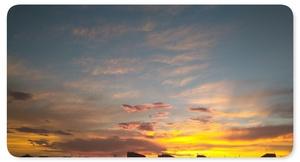 日の出前♪