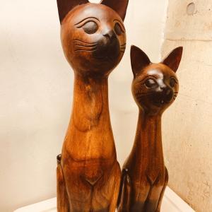 EPISODE 22 金運アップ!木彫りのネコ