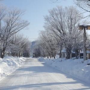 1月21日 氷点下12℃の長井市・・・