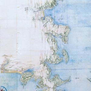 200年前の出島の地図