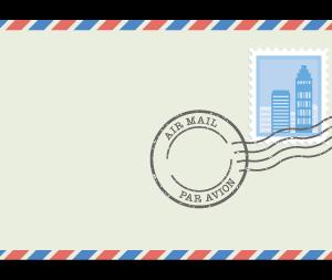 国際郵便が送れない・・