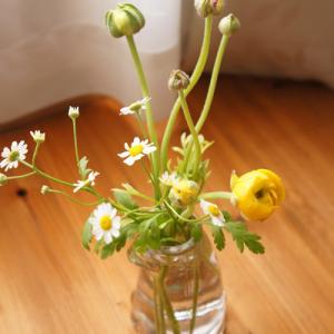 お花を生ける、という習慣