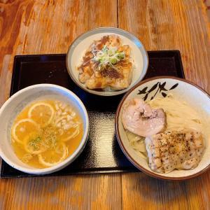 レモンと生姜の豚清湯つけ麺
