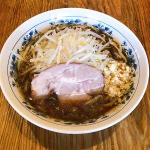 朝ラー二郎系と鶏ボナーラ