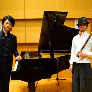 久々の生収録〜ピアノ尺八INFINITY〜