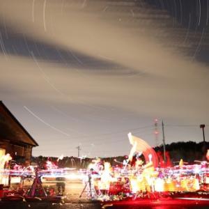 星空観望会と花火大会、連荘で