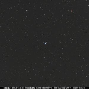 星座を作る星122 こうま座ベータ