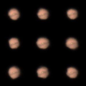9月21日の火星ちゃん