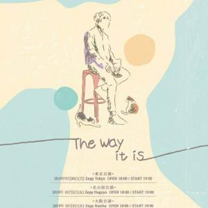 「K.will Japan Tour 2019 ~The Way it is~」