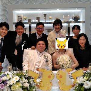 祝!社員の結婚式