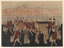 日本史の「異国」09 先人は手足一致で歩いた?