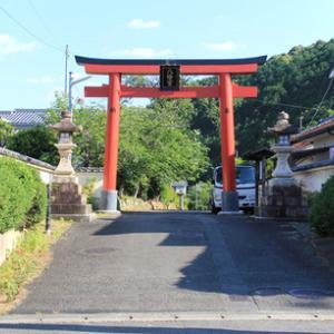 吉利倶八幡宮と梵字