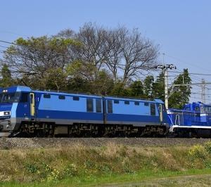 東武鉄道へ譲渡されるDE10 1109の甲種輸送