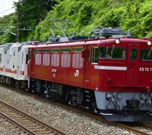 マヤ50 5001の配給列車