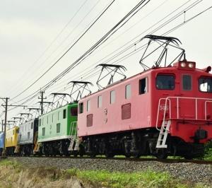 秩父鉄道「電気機関車5重連牽引で行く12系客車乗車&撮影会ツアー」