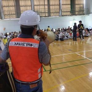 彦根市金城学区一斉防災総合訓練・・・参加者500人超えの訓練に参画しました。