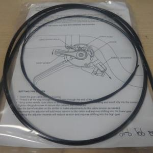 ブロンプトンS6L-Xの外装3速のシフトに純正ケーブルを使おうとしましたが、無理でした・・・