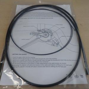 ブロンプトンS6L-Xの外装3速のシフトにMハンドル用のケーブルを使用して純正化しました・・・