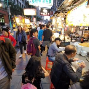 台湾⑤_寧夏夜市と火鍋屋さん