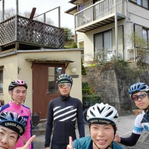百草園激坂→自転車メンテ