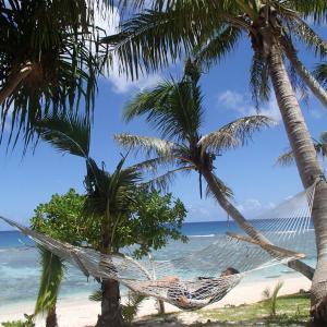 太平洋の色と、フィリピン海の色。1年ぶりに太平洋を見ました!懐かしい!