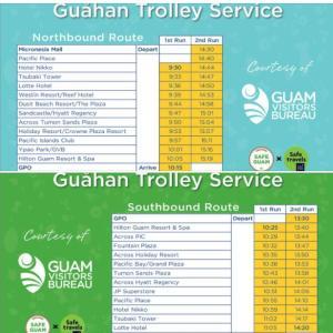 一気にグアムは規制解除です。無料バスも再開するようです。
