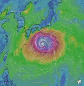 台風第19号 (ハギビス)