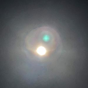 ごきげんよう  10月21日 木曜日です♪《パワフルなお月様でした》