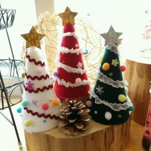 クリスマスツリーのワークショップ