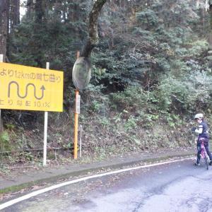 箱根旧道へ激坂サイクリング