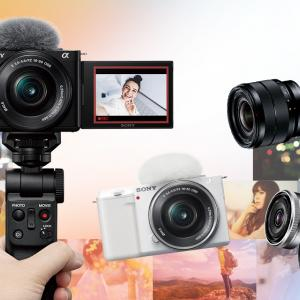 SonyのVLOG用カメラが超人気らしい